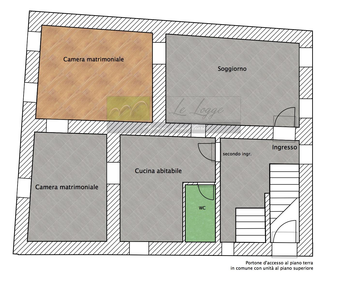 Planimetria 1/1 per rif. LOG-17