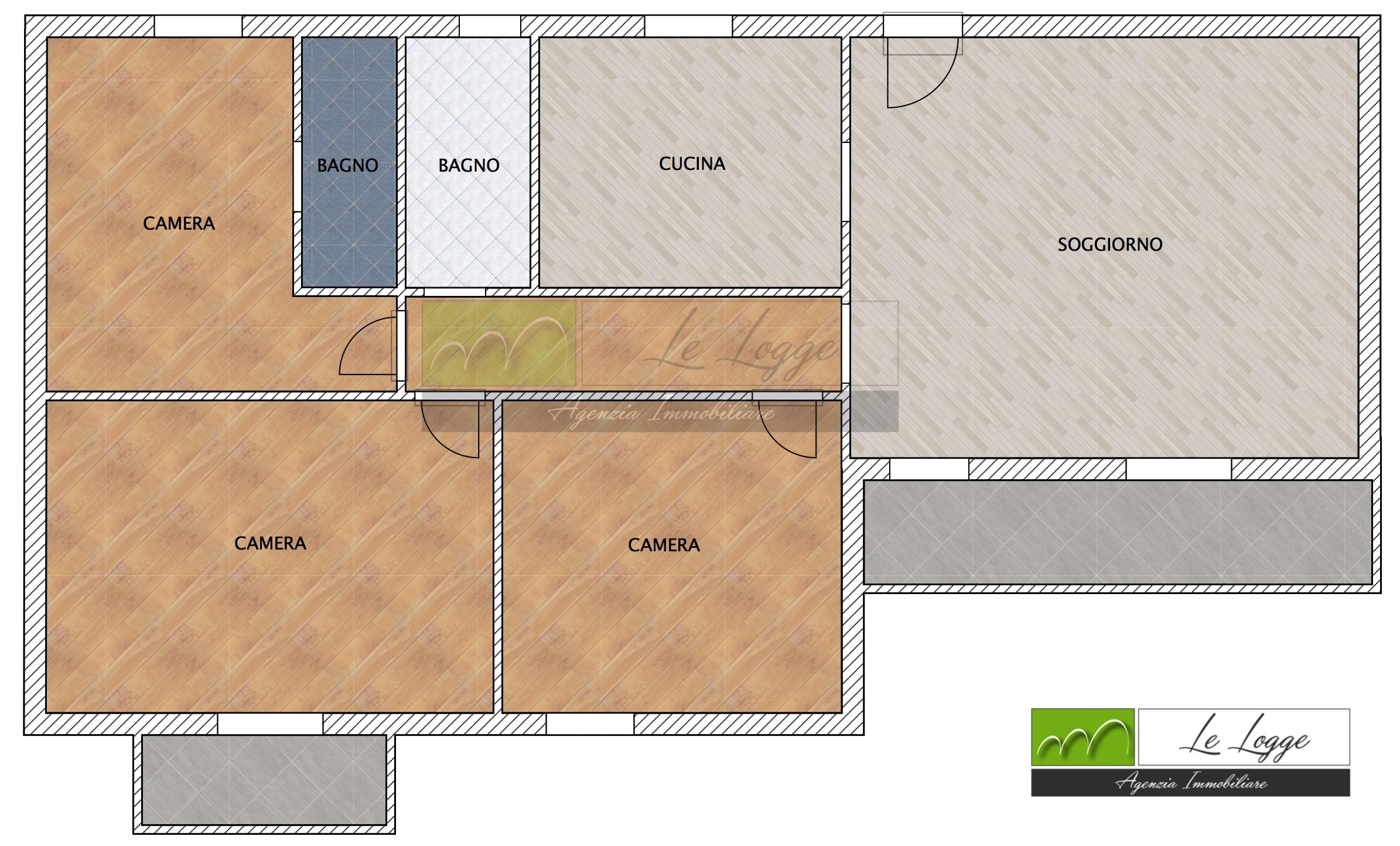 Planimetria 1/1 per rif. LOG-132