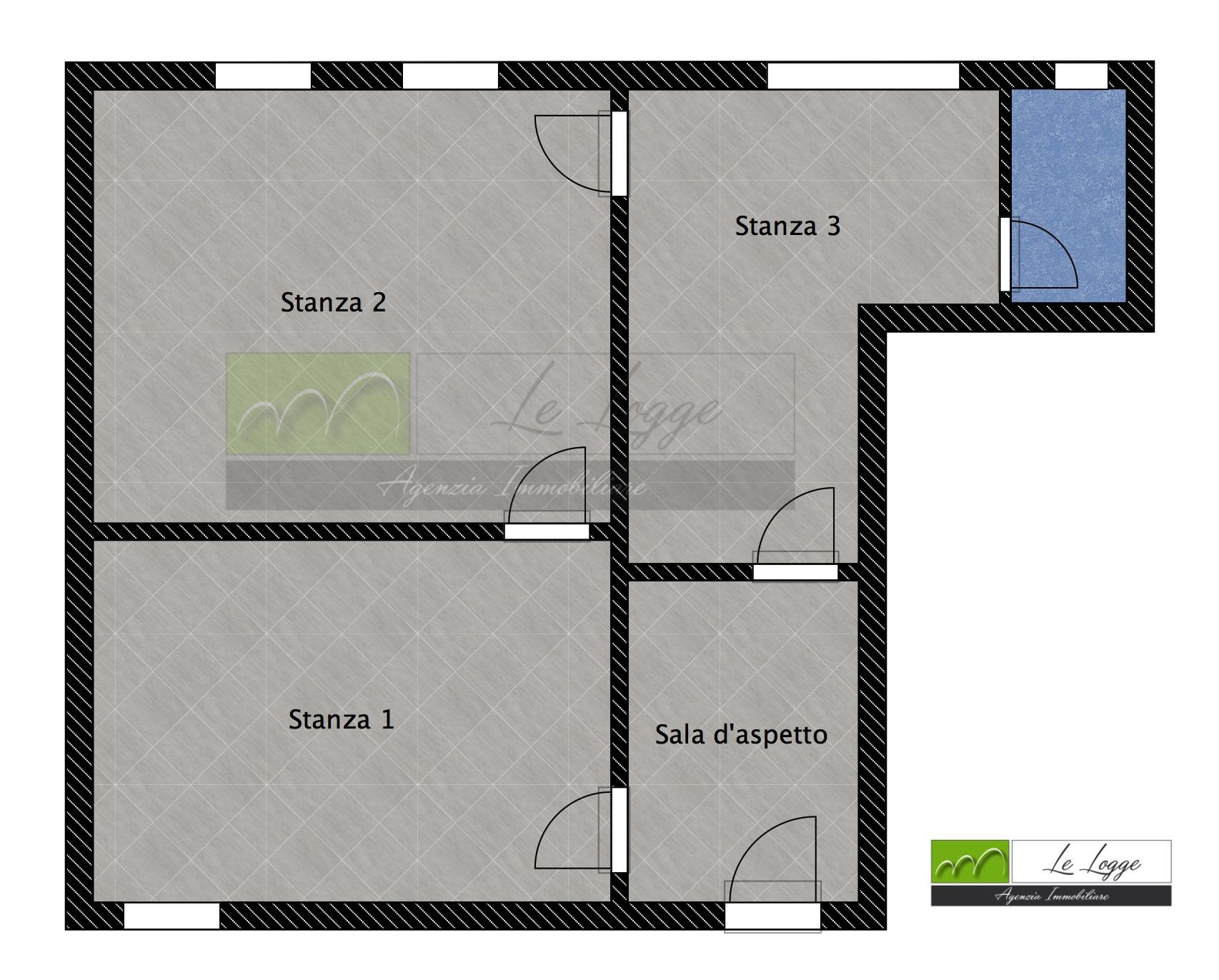 Planimetria 1/1 per rif. LOG-139