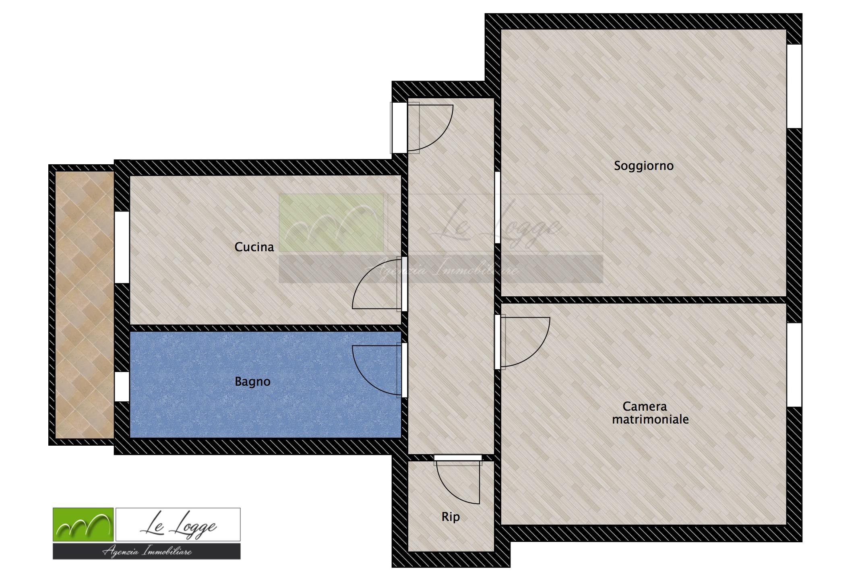 Planimetria 2/2 per rif. LOG-160