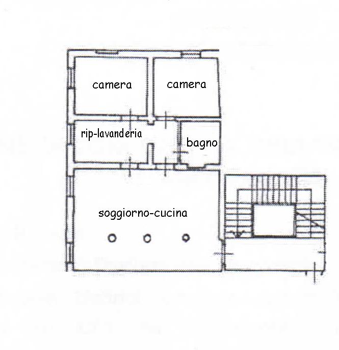 Planimetria 1/1 per rif. 753