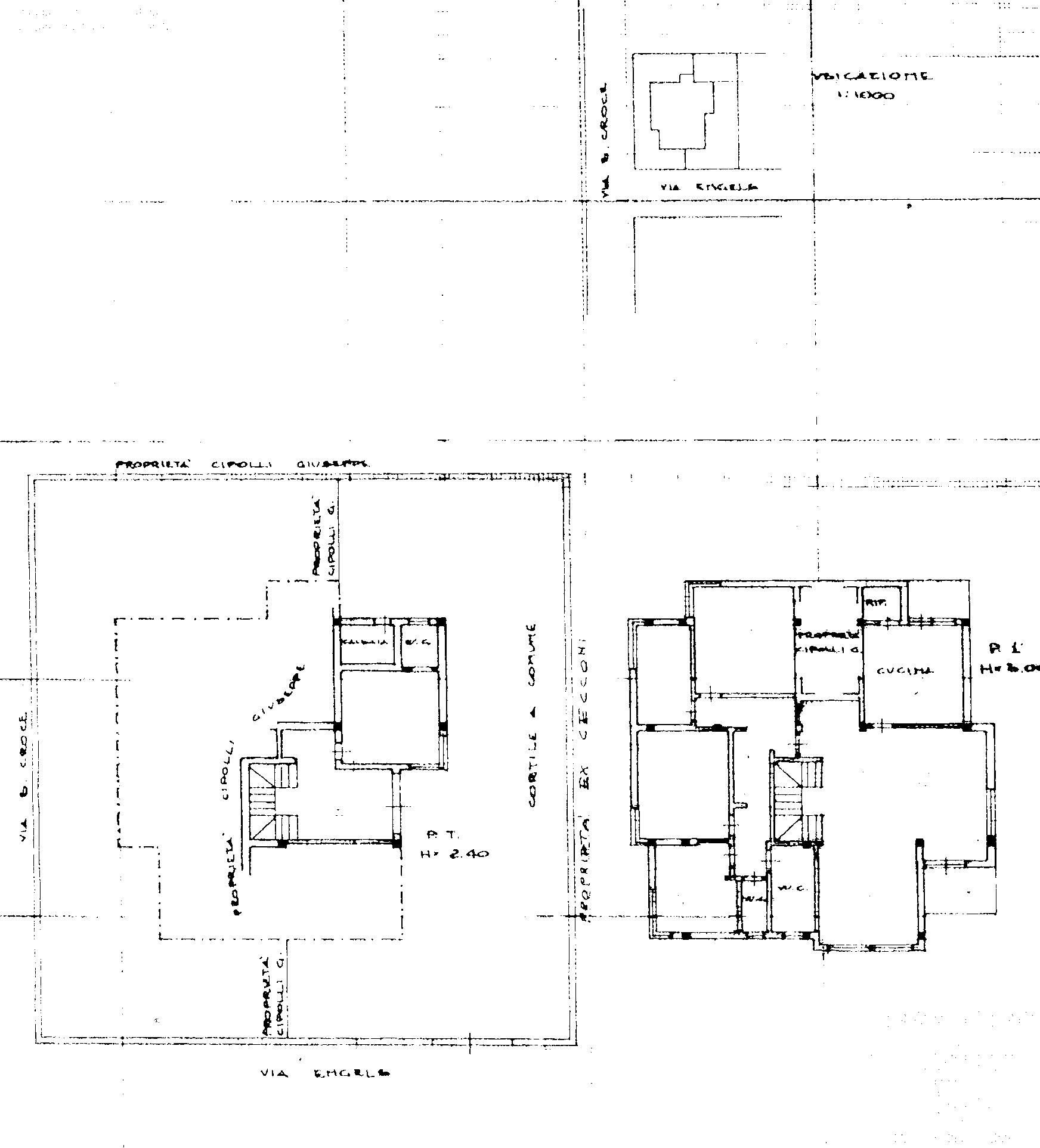 Planimetria 1/1 per rif. 285