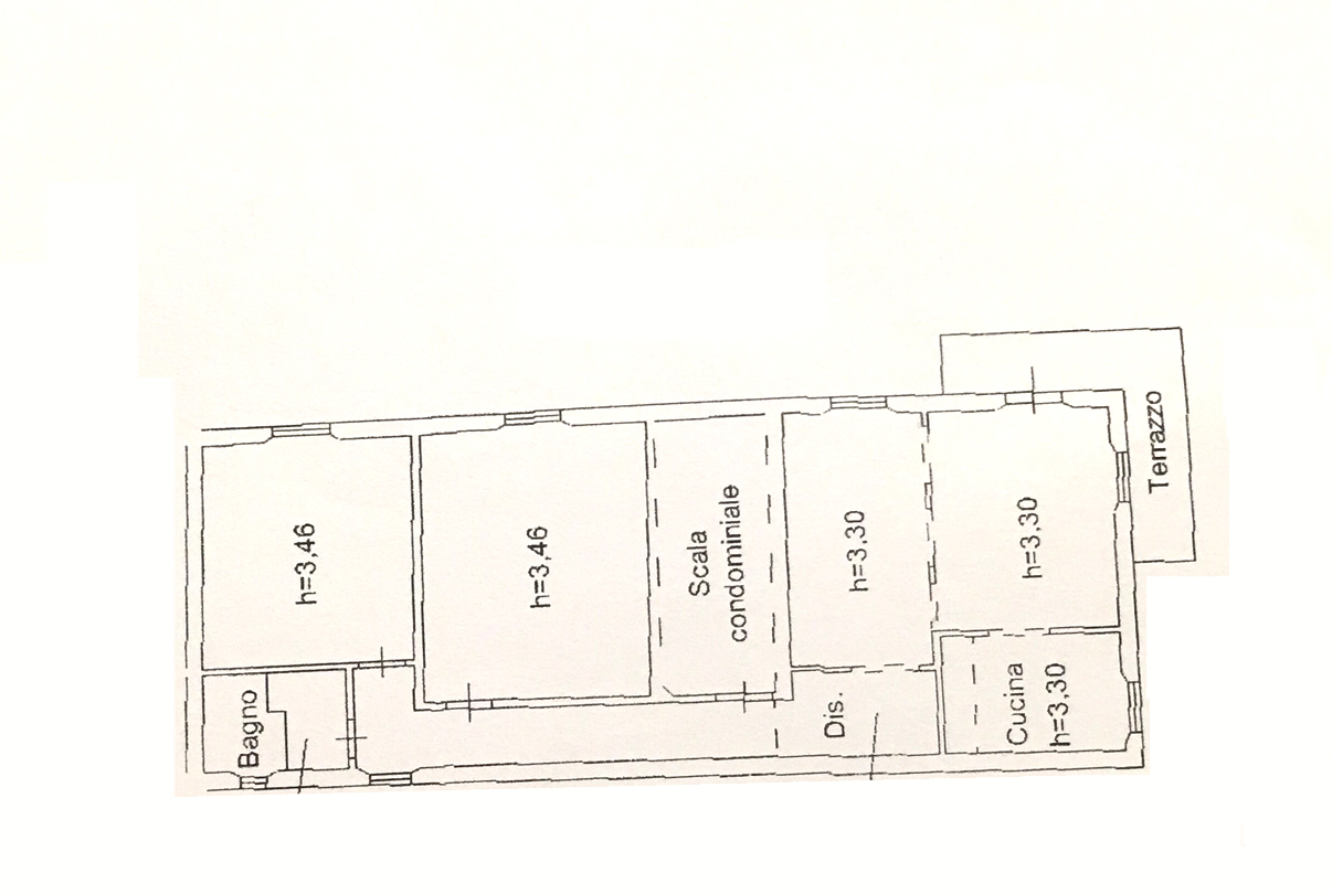 Planimetria 1/1 per rif. 857