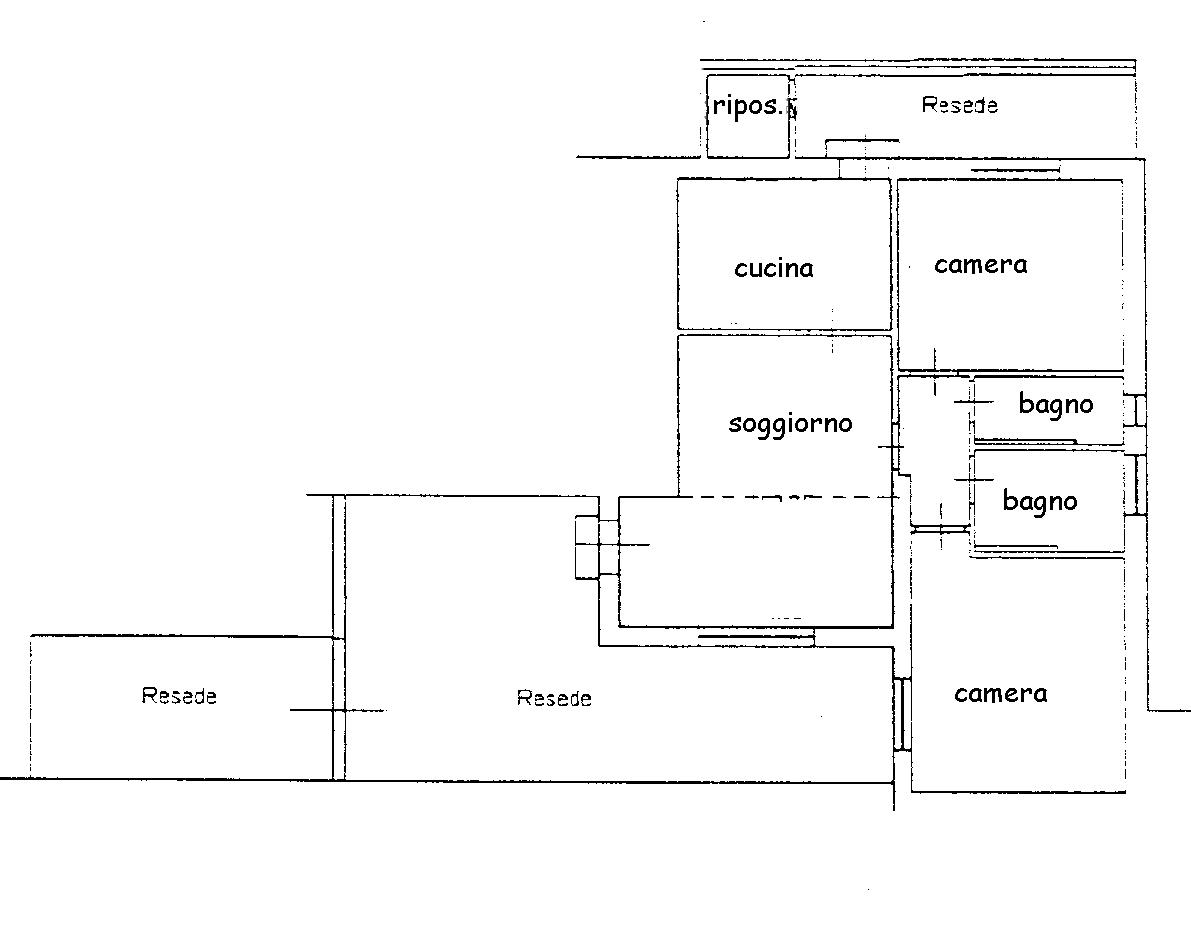 Planimetria 1/1 per rif. 764