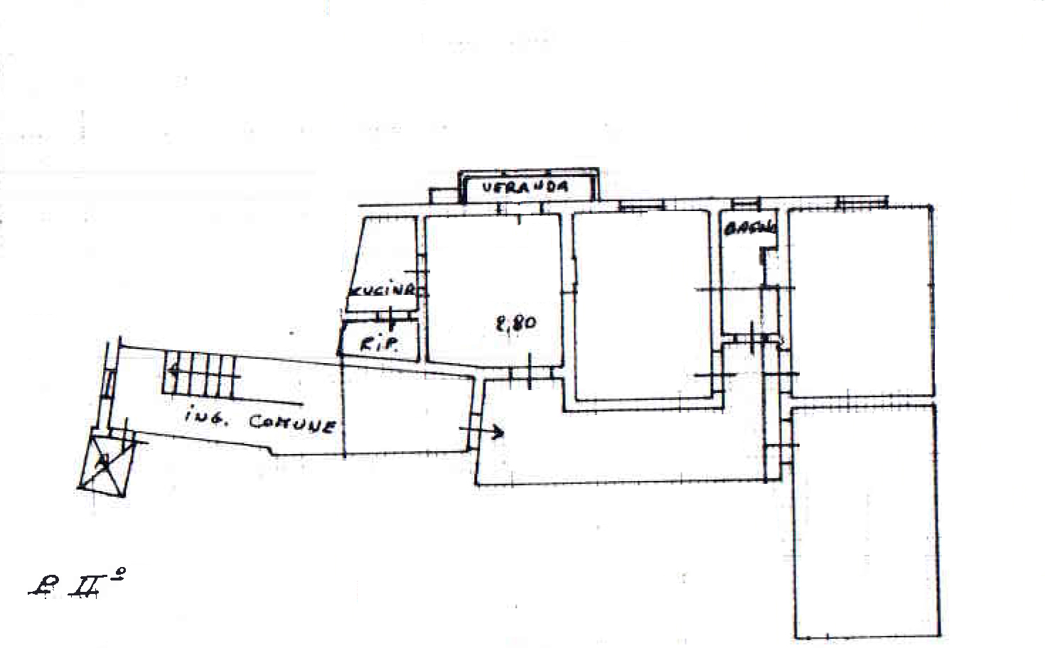 Planimetria 1/1 per rif. 885