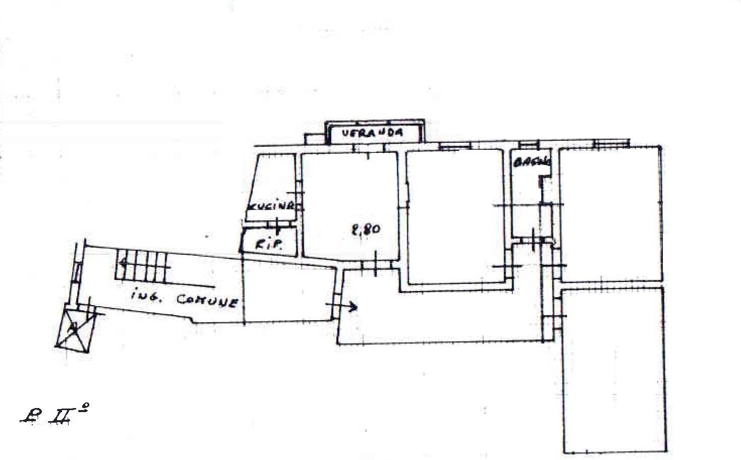 Planimetria 1/1 per rif. 908