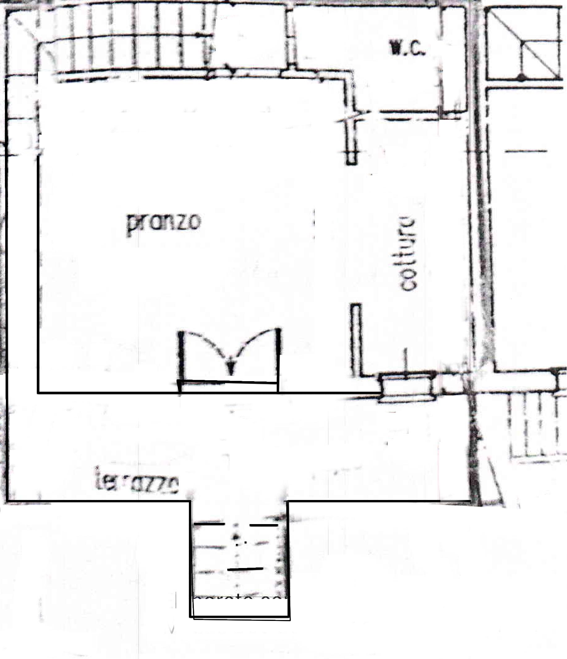 Planimetria 1/1 per rif. 587