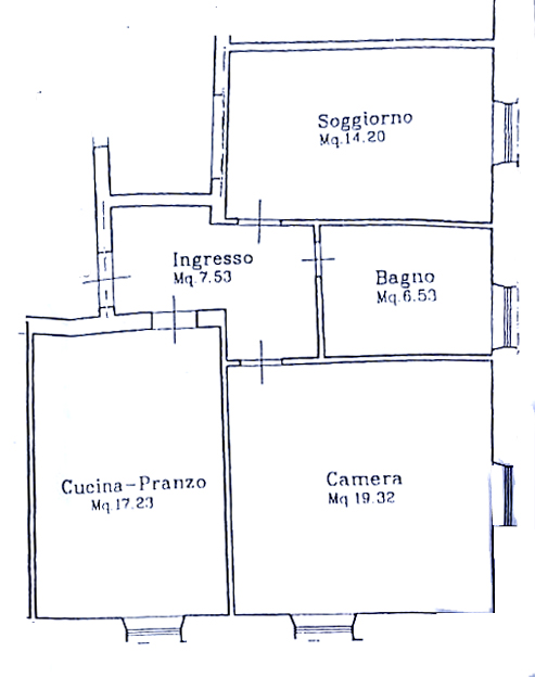 Planimetria 1/1 per rif. 913B