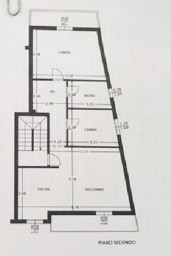 Planimetria 1/2 per rif. 694