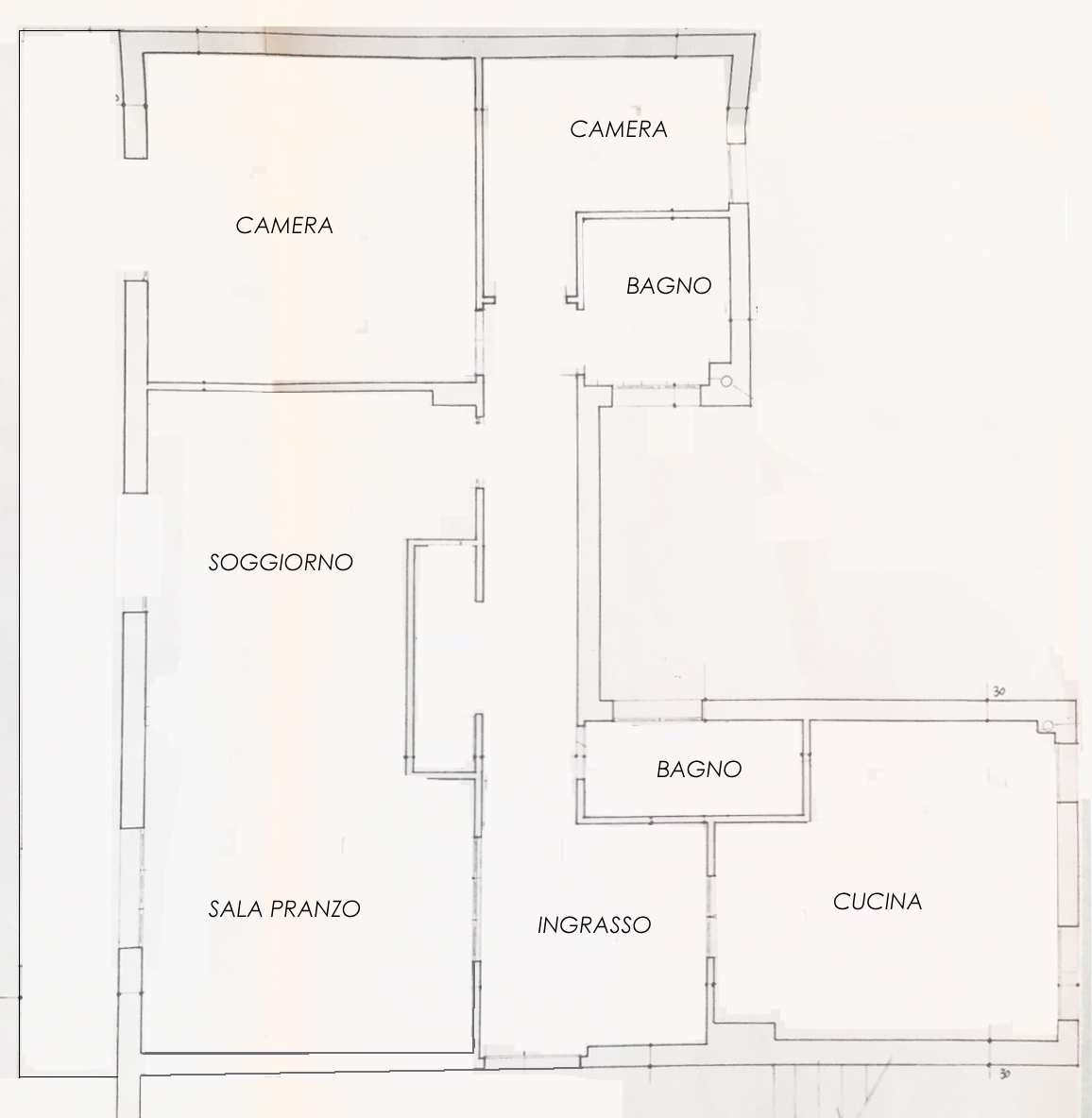 Planimetria 1/1 per rif. 970