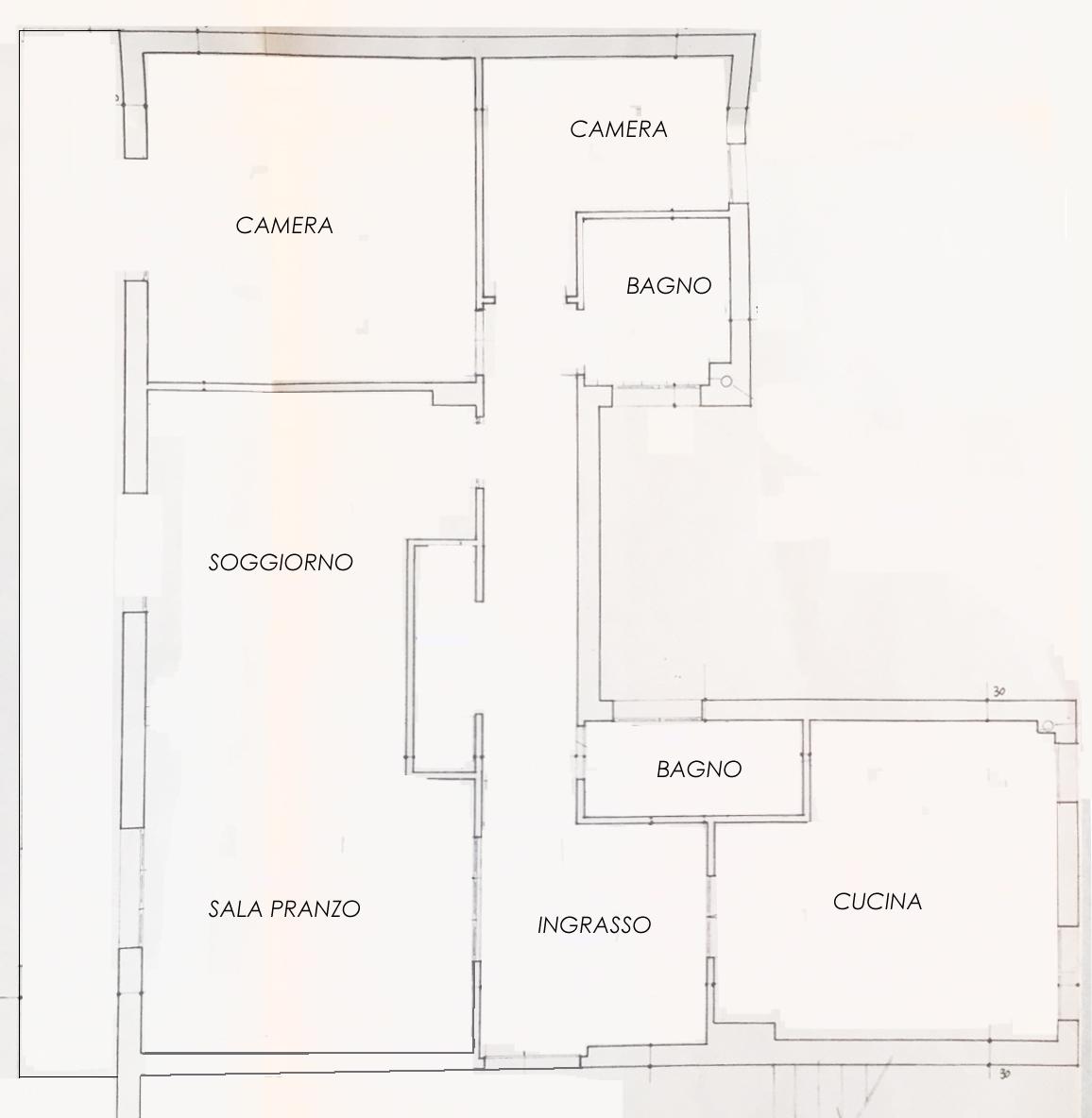 Planimetria 1/1 per rif. 993a