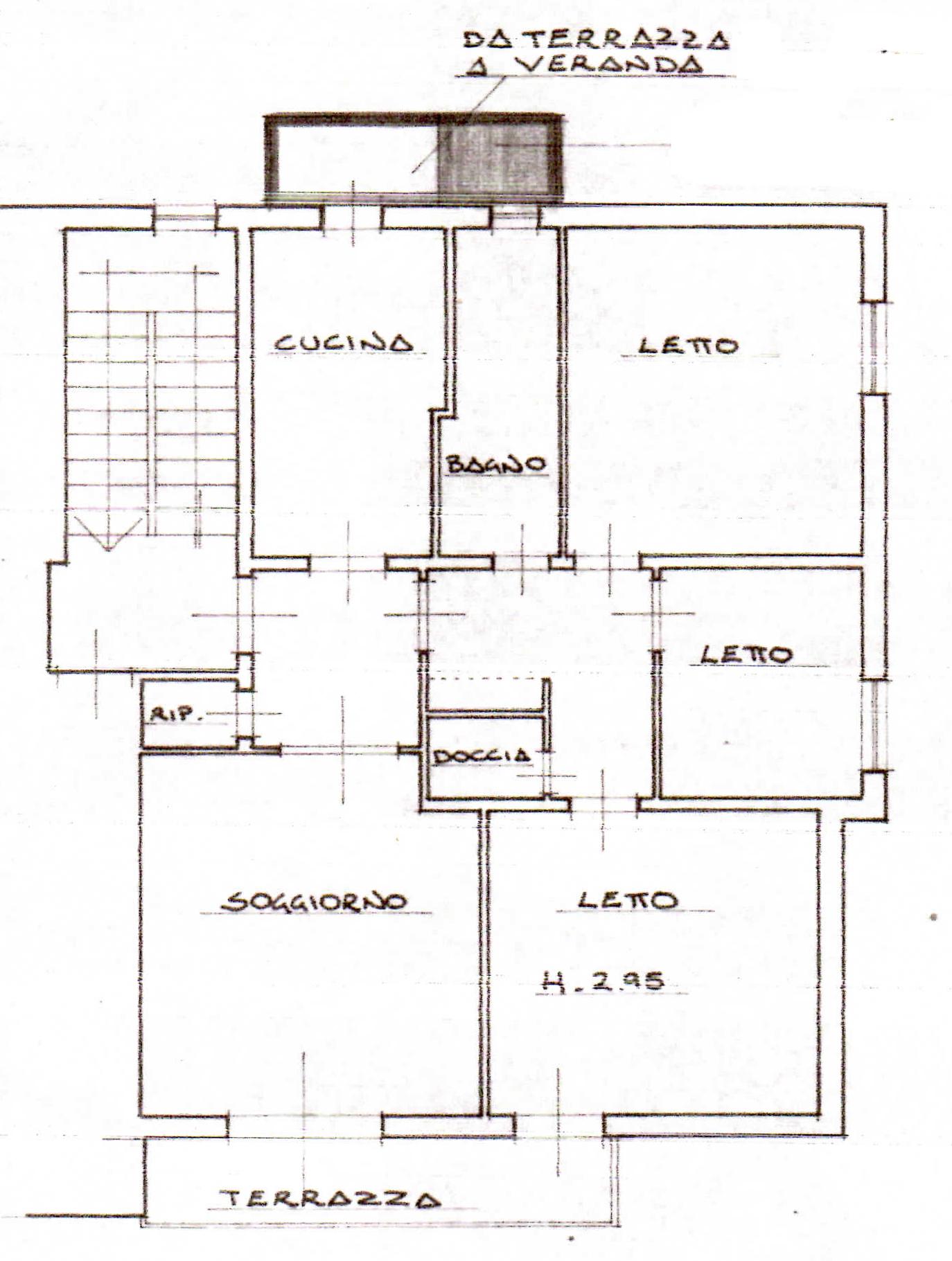 Planimetria 1/1 per rif. 110