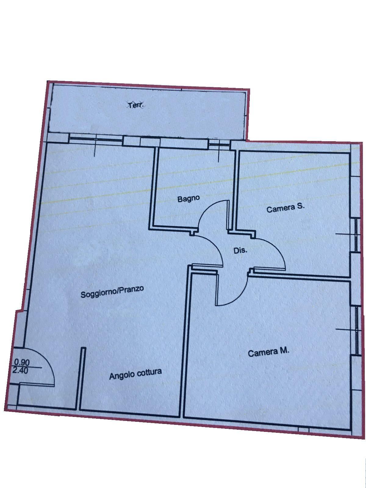 Planimetria 1/1 per rif. 995a