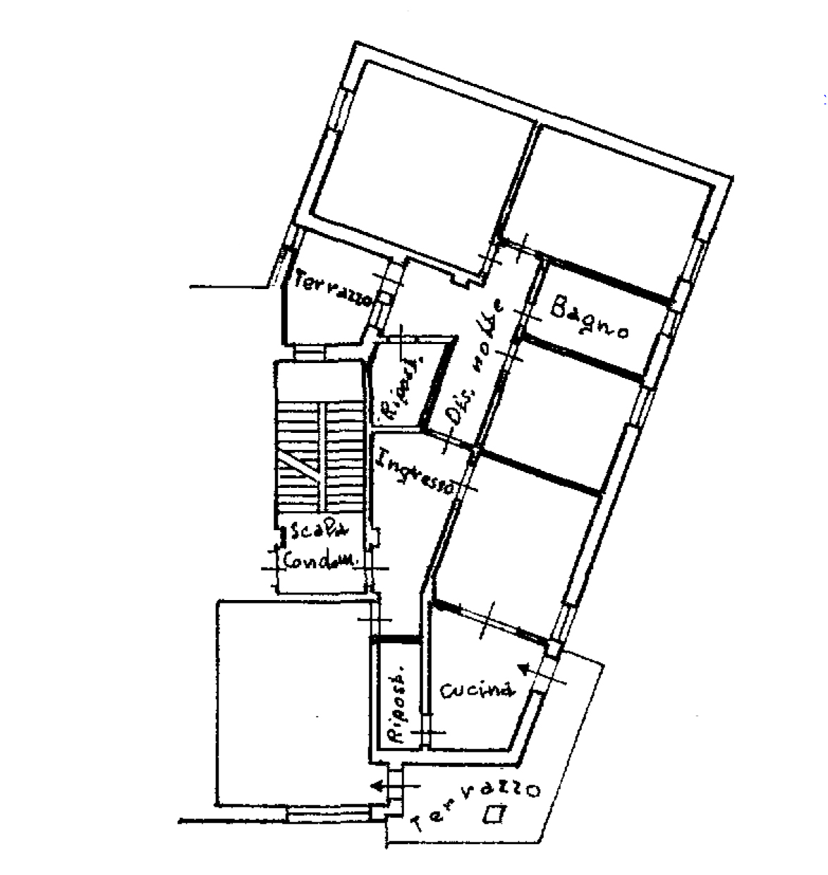 Planimetria 1/1 per rif. 117