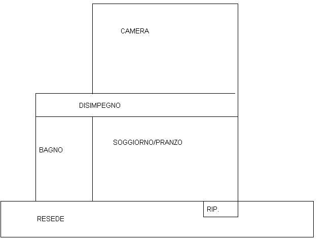 Planimetria 1/1 per rif. 100a