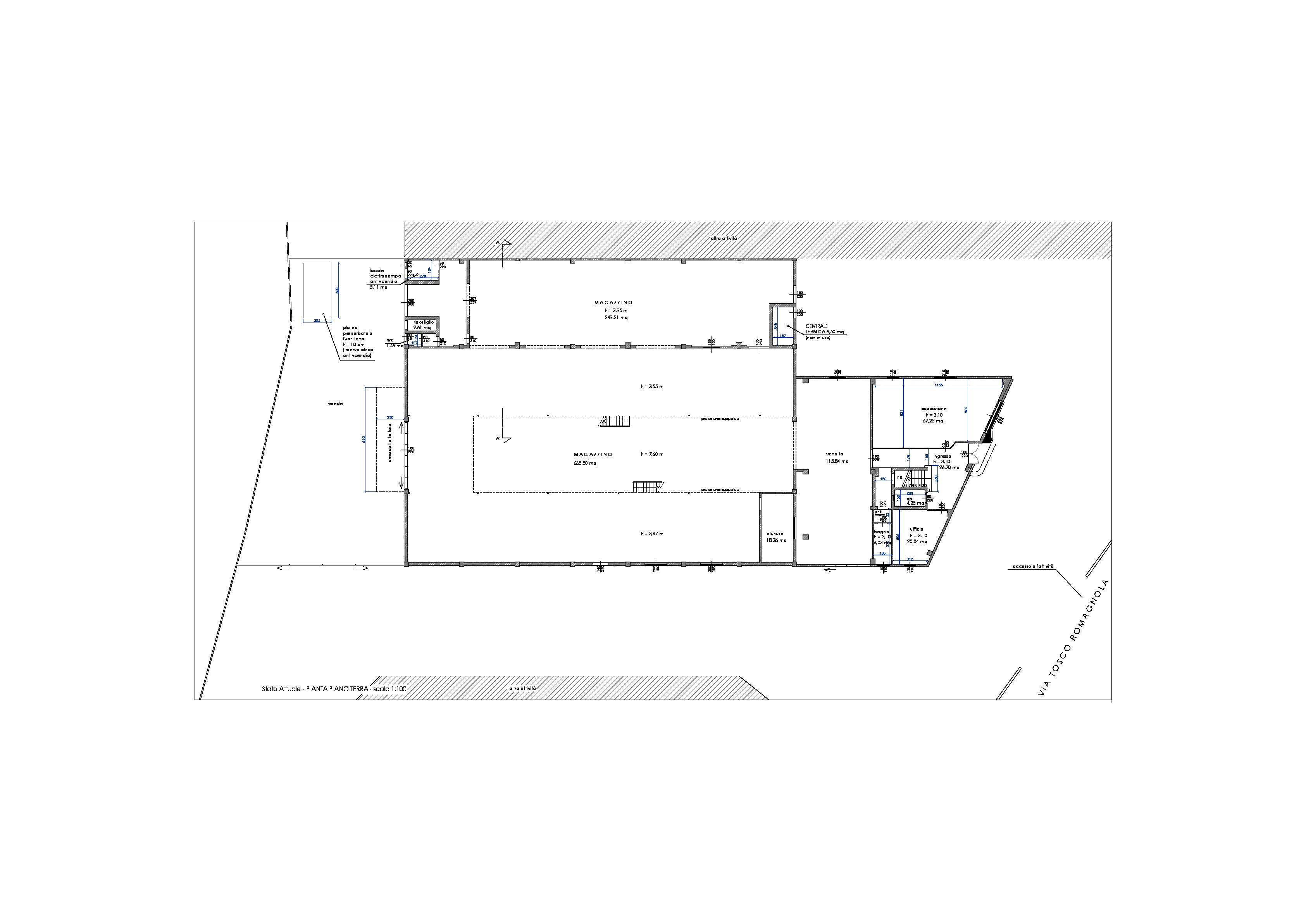 Planimetria 2/2 per rif. 140c