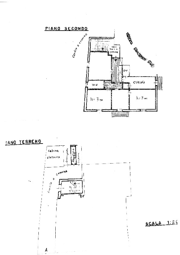Planimetria 1/1 per rif. 960