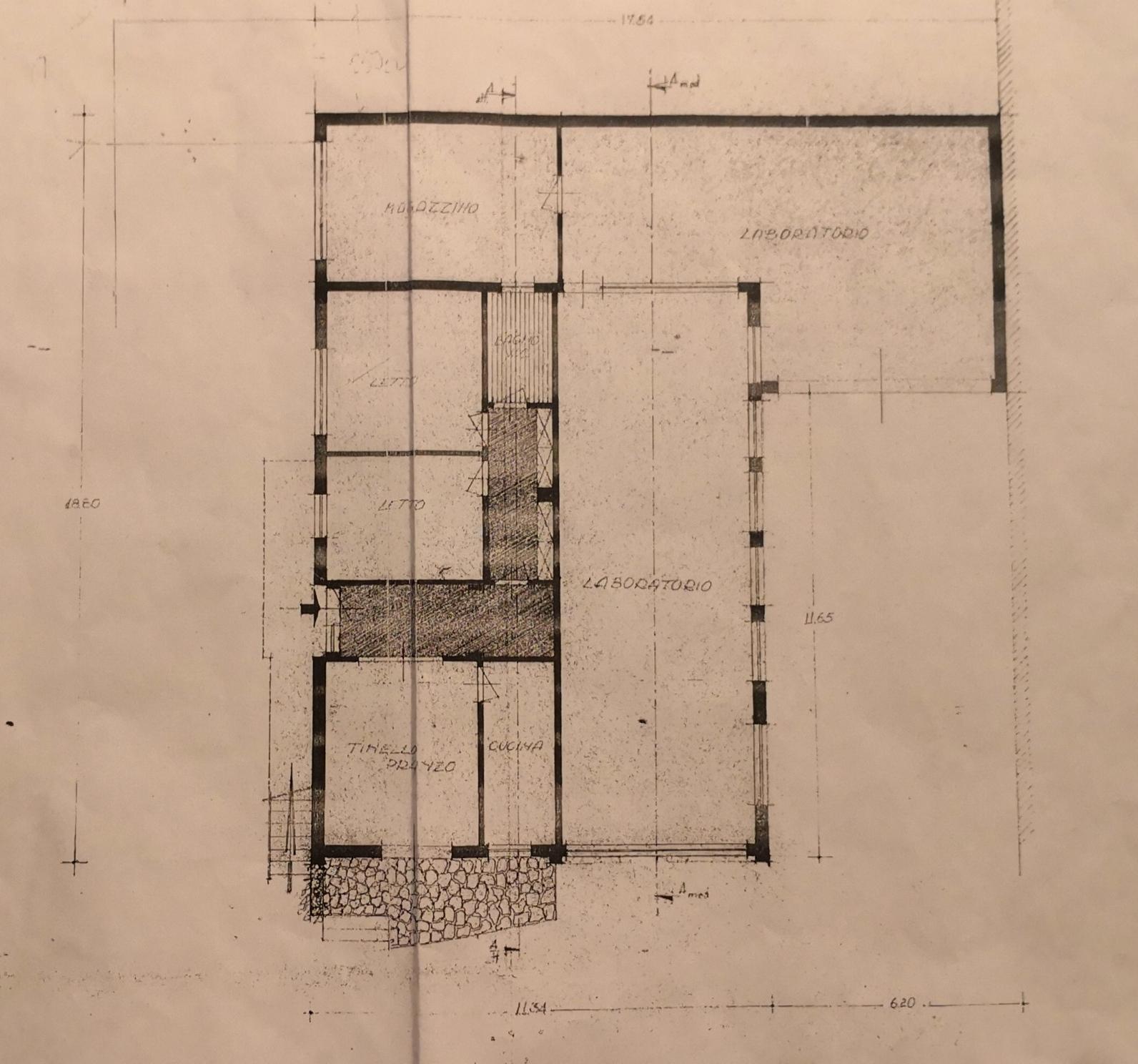 Planimetria 1/1 per rif. 985