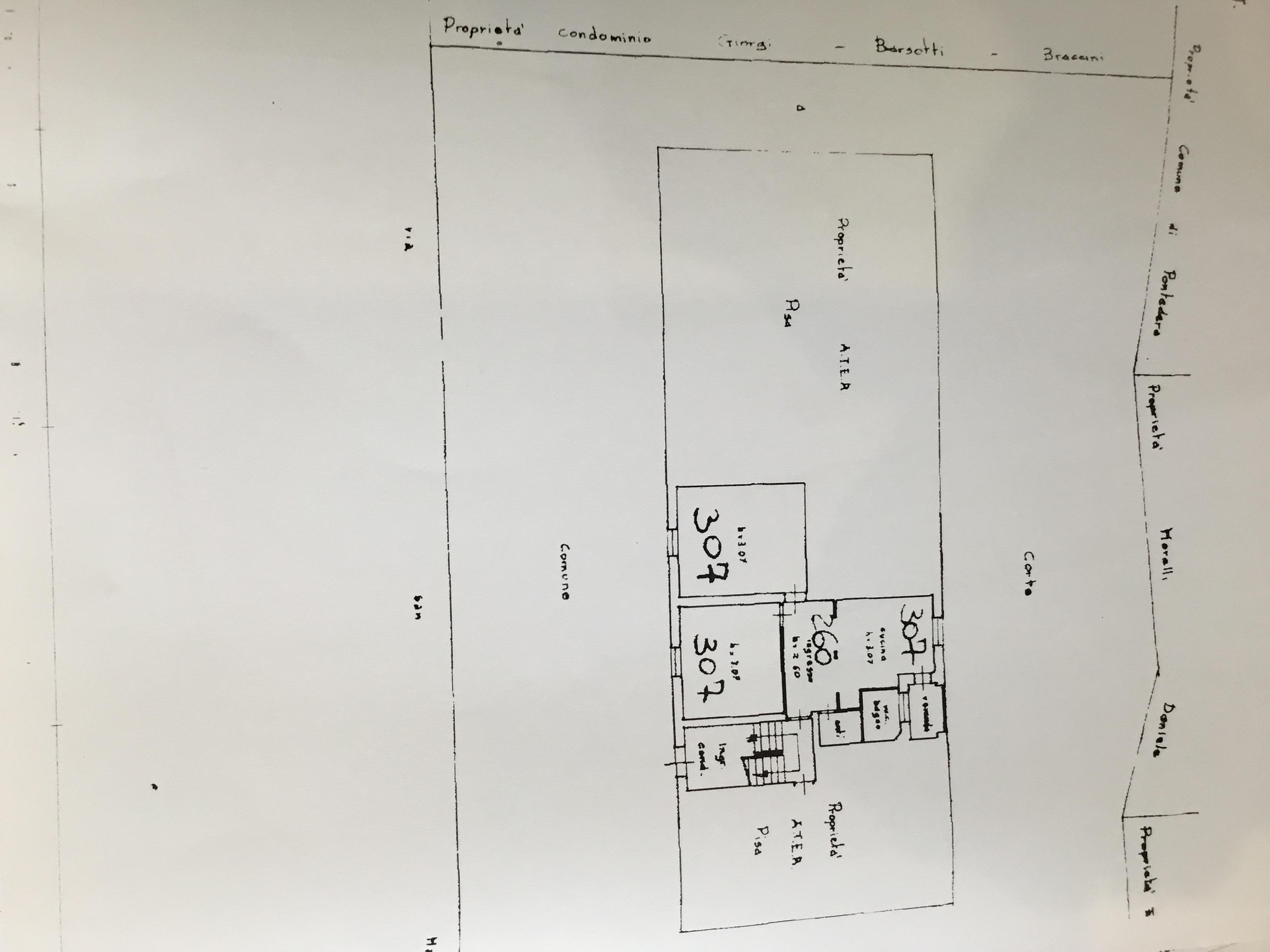 Planimetria 1/1 per rif. 990a