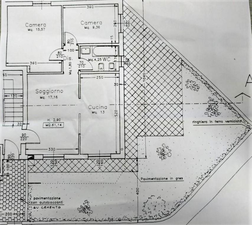 Planimetria 1/1 per rif. 8483