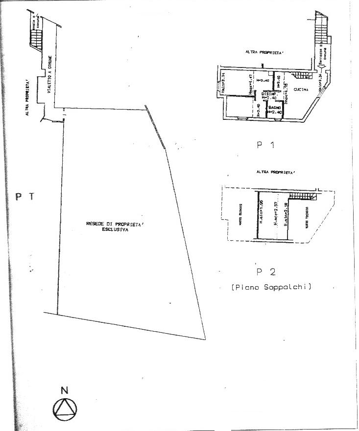Planimetria 1/1 per rif. AP408