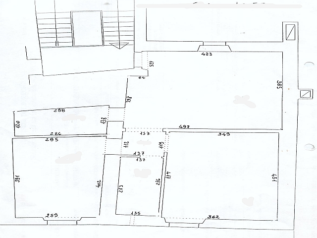 Planimetria 1/1 per rif. 460