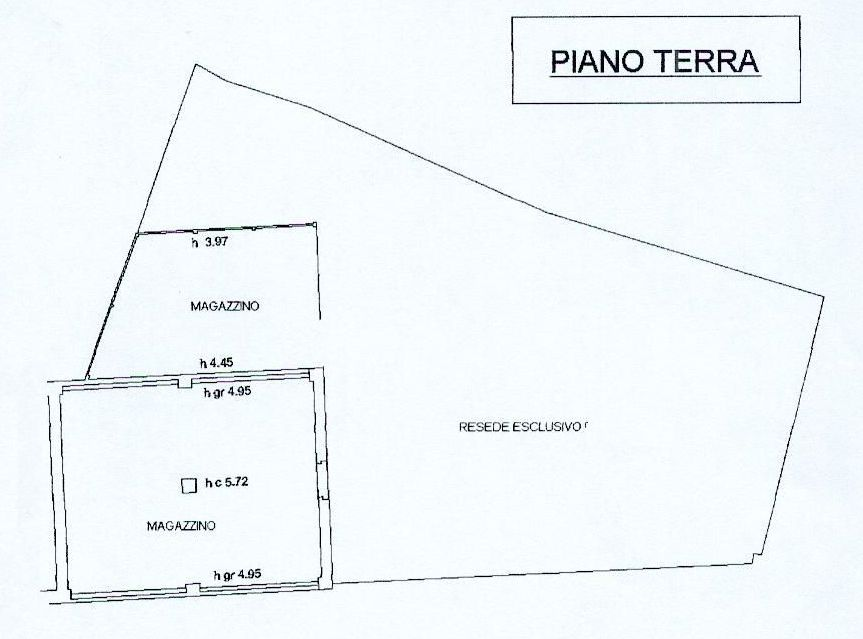 Planimetria 1/1 per rif. PC005