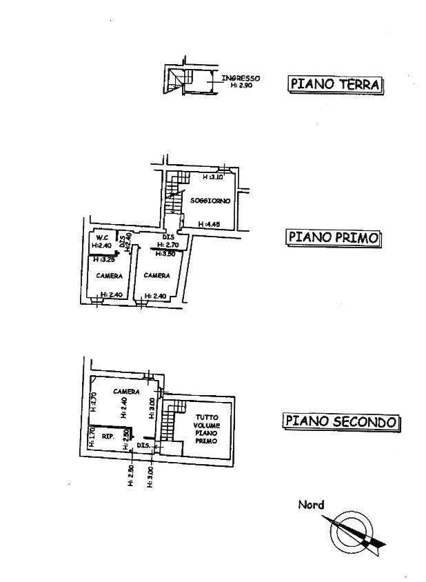 Planimetria 1/1 per rif. PC026