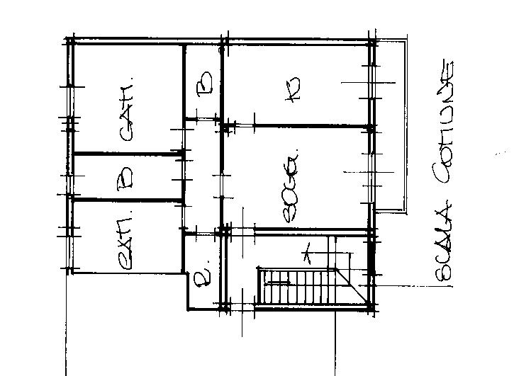Planimetria 1/2 per rif. rb014