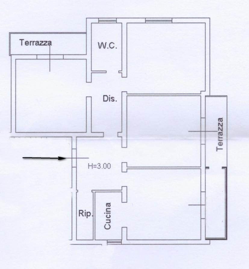 Planimetria 1/1 per rif. rb057