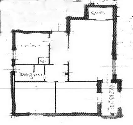 Planimetria 1/1 per rif. rb076