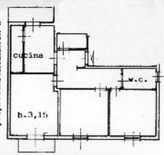 Planimetria 1/1 per rif. rb090