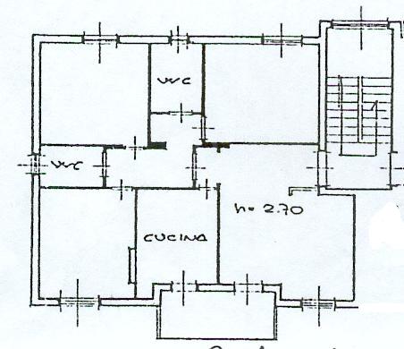 Planimetria 1/1 per rif. rb118
