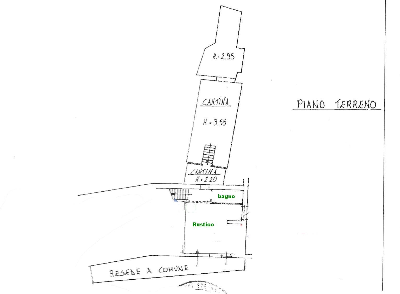 Planimetria 1/2 per rif. rb139
