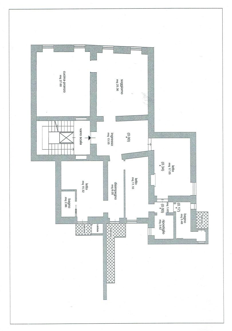 Planimetria 1/1 per rif. A953