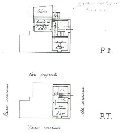 Planimetria 1/3 per rif. A971