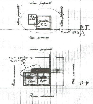 Planimetria 2/3 per rif. A971