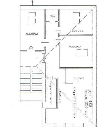 Planimetria 1/1 per rif. A973