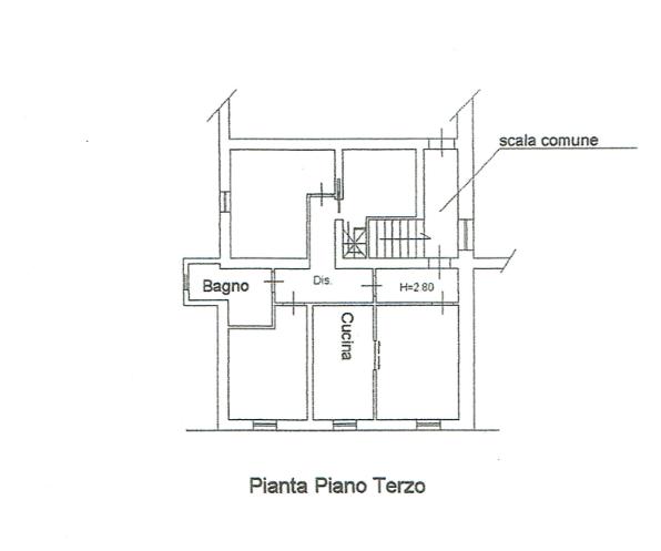 Planimetria 1/2 per rif. A979