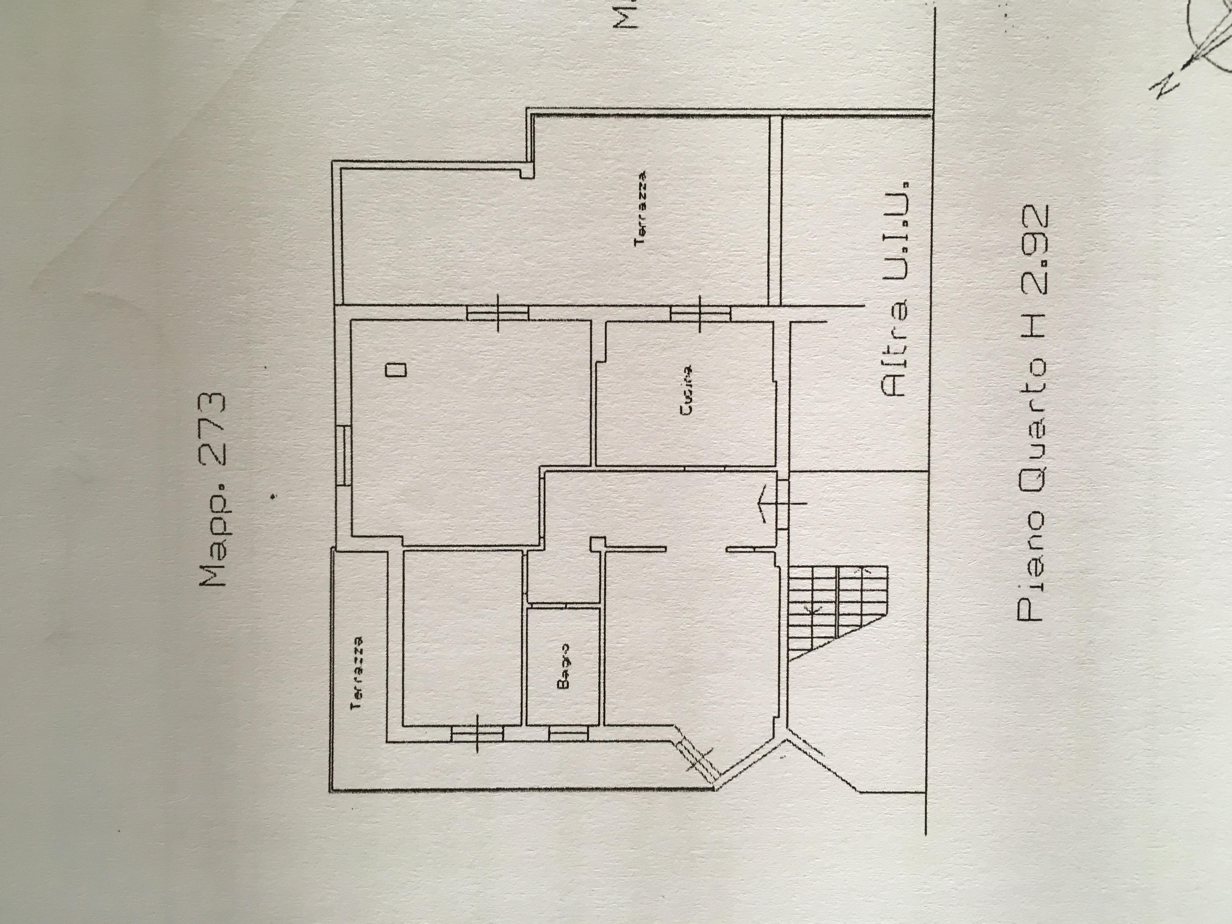 Planimetria 1/1 per rif. E319