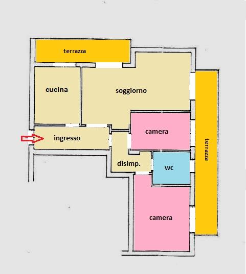 Planimetria 2/2 per rif. 100291