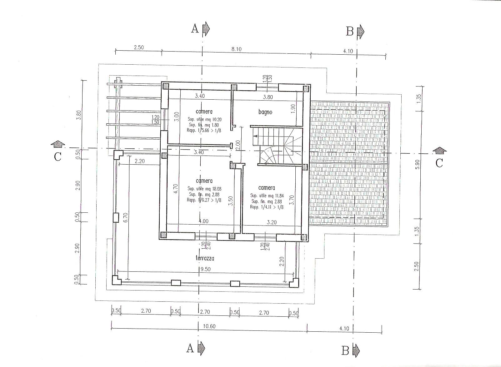 Planimetria 2/5 per rif. 200593