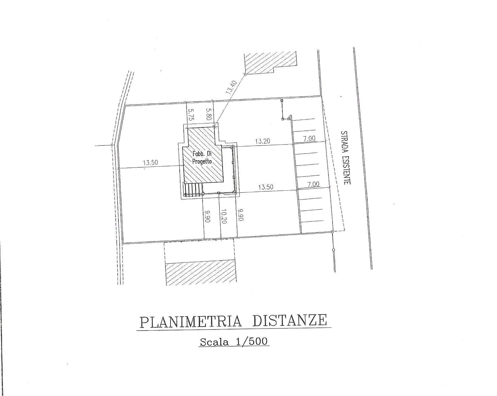 Planimetria 3/5 per rif. 200593