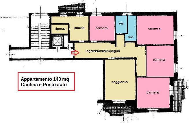 Planimetria 1/1 per rif. 200604