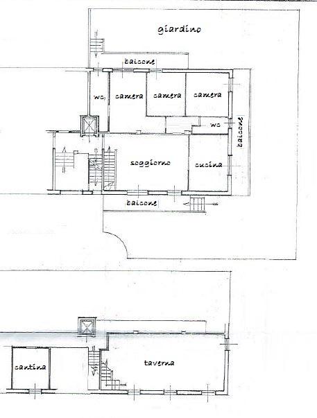 Planimetria 1/1 per rif. 300707