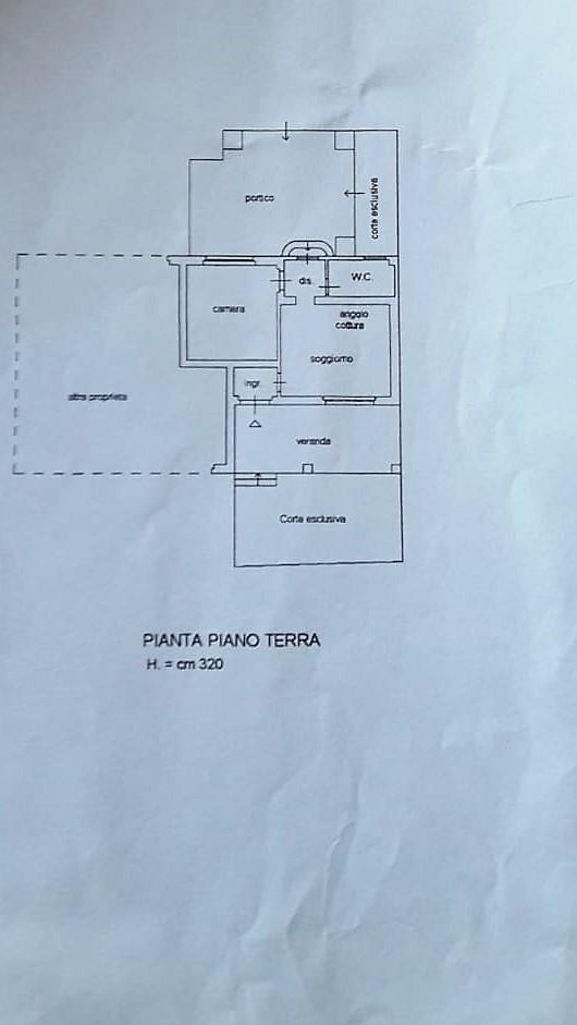 Planimetria 1/1 per rif. 2986