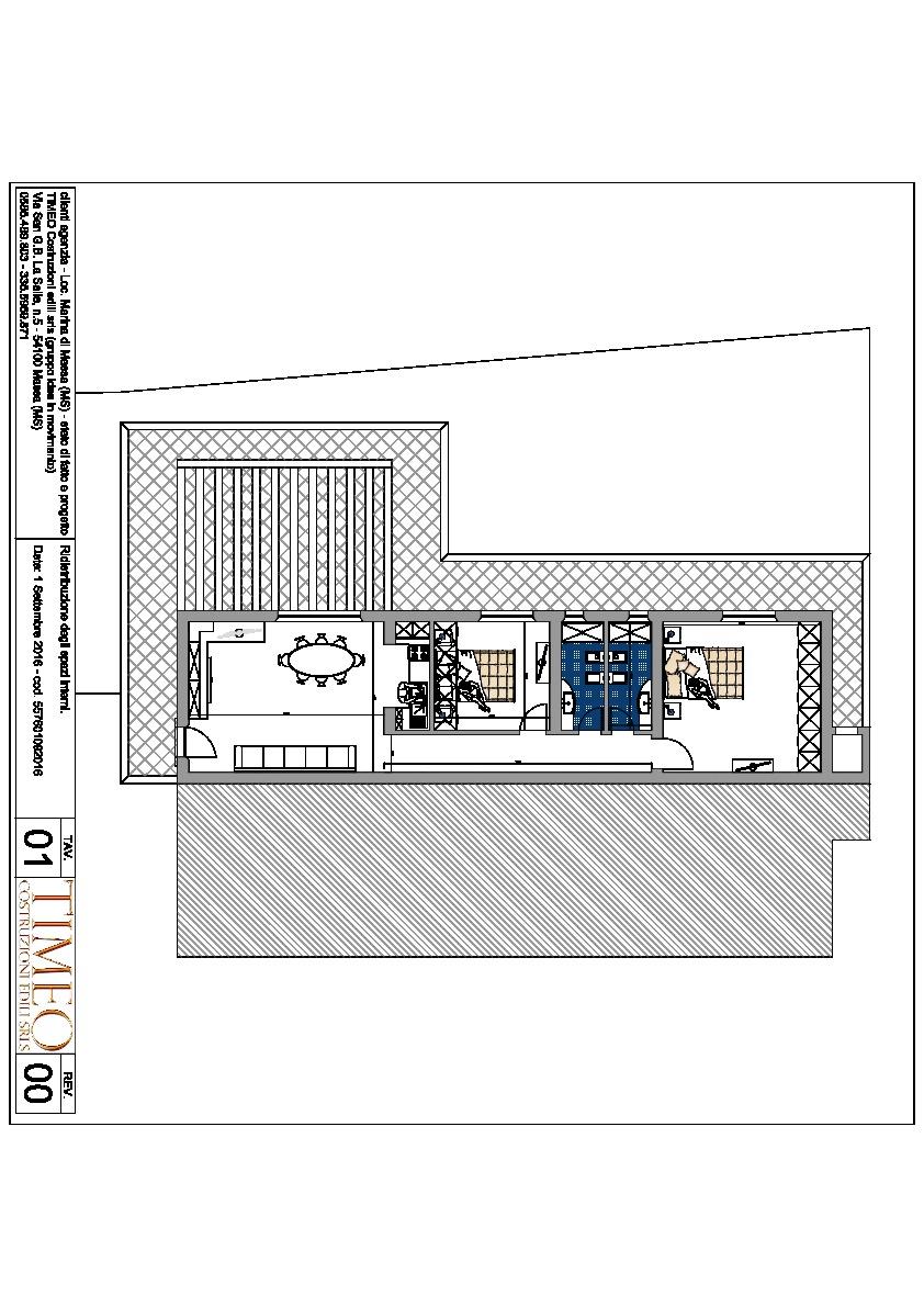 Planimetria 1/1 per rif. V1293