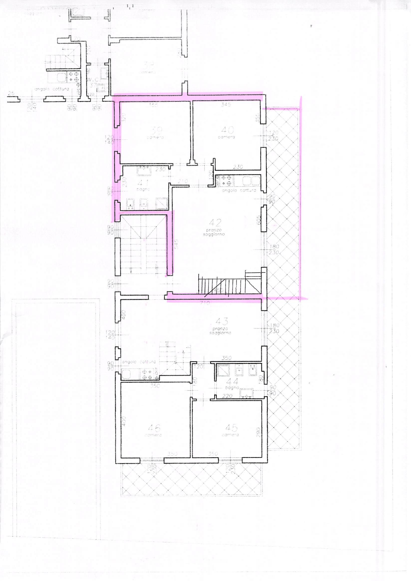 Planimetria 1/3 per rif. B68