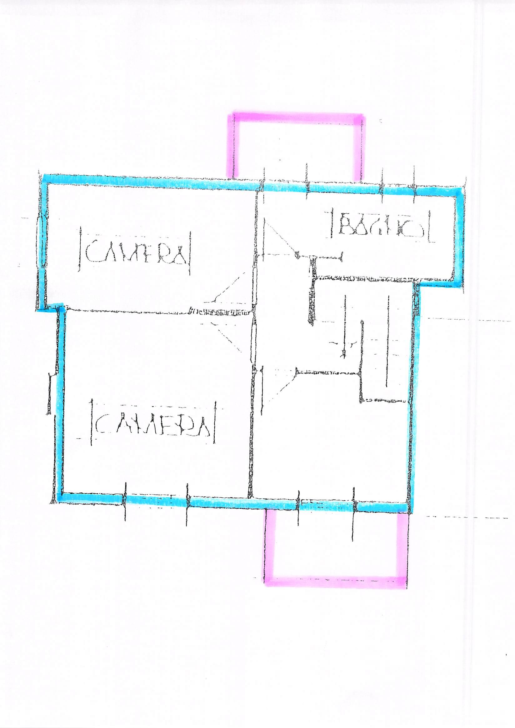 Planimetria 2/2 per rif. B83