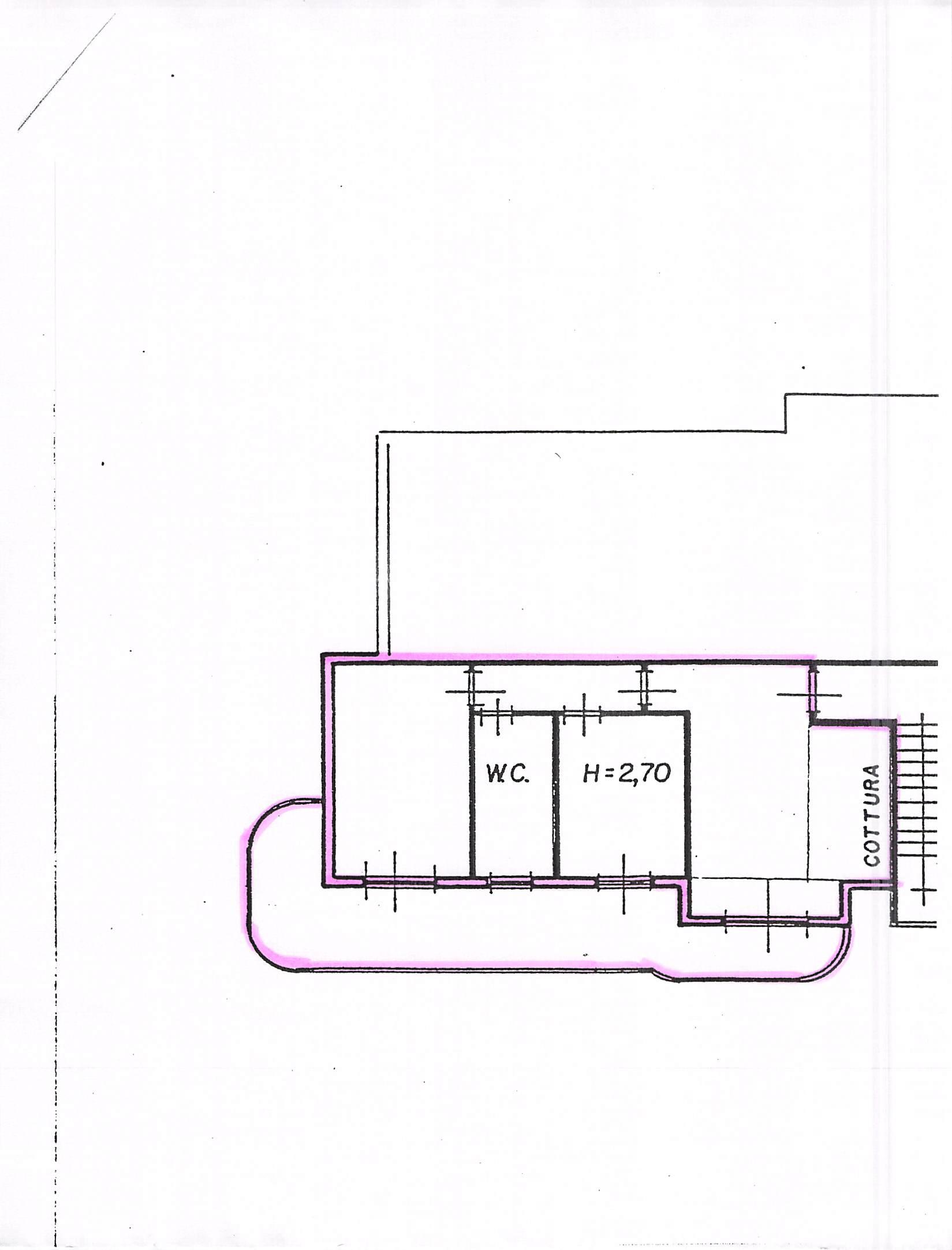 Planimetria 1/1 per rif. B85